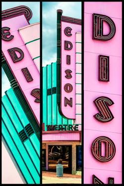 Triptych Collection - Old American Theater - Edison Theatre by Philippe Hugonnard