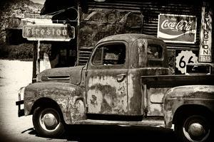 Truck - Route 66 - Gas Station - Arizona - United States by Philippe Hugonnard
