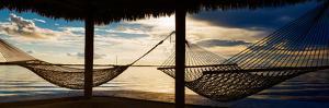 Two Hammocks at Sunset - Florida by Philippe Hugonnard