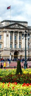 UK Landscape - Buckingham Palace - London - UK - England - United Kingdom - Europe - Door Poster by Philippe Hugonnard