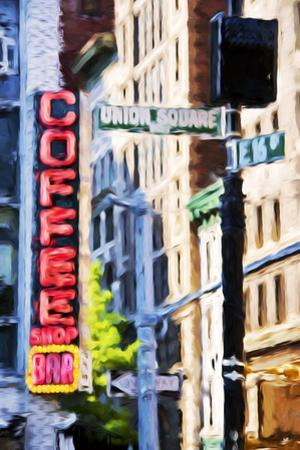 Union Square - In the Style of Oil Painting by Philippe Hugonnard
