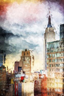 Urban Empire - In the Style of Oil Painting by Philippe Hugonnard