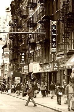 Urban Landscape - Chinatown - Manhattan - New York City - United States by Philippe Hugonnard