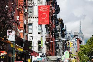 Urban Landscape - Empire State Building - Little Italy - Manhattan - New York City - United States by Philippe Hugonnard