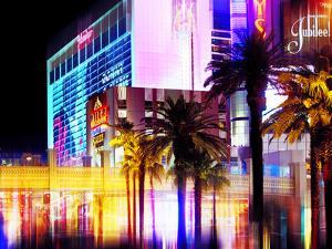 Urban Stretch Series, Fine Art, Strip, Casino, Las Vegas, Nevada, United States by Philippe Hugonnard