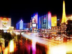 Urban Stretch Series, Fine Art, Strip, Las Vegas, Nevada, United States by Philippe Hugonnard