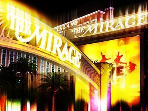 Urban Stretch Series, Fine Art, the Mirage, Casino, Las Vegas, Nevada, United States by Philippe Hugonnard