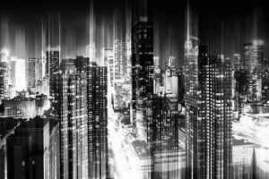 Urban Stretch Series - Manhattan and Times Square at Night - 42nd Street - New York by Philippe Hugonnard