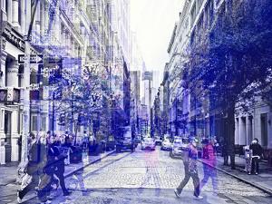Urban Vibrations Series, Fine Art, Soho, Manhattan, New York City, United States by Philippe Hugonnard