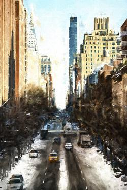 Urban Winter Street by Philippe Hugonnard