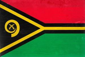 Vanuatu Flag Design with Wood Patterning - Flags of the World Series by Philippe Hugonnard