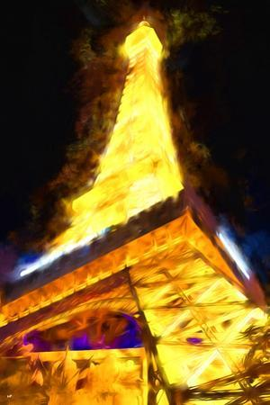 Vegas Tower - In the Style of Oil Painting by Philippe Hugonnard
