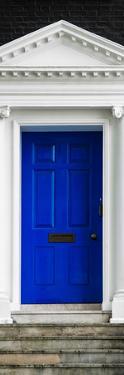 Victorian Blue Door - Architecure & Buildings - London - UK - England - Photography Door Poster by Philippe Hugonnard