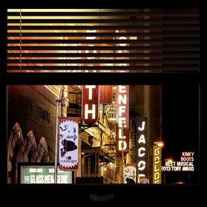 View from the Window - Broadway Theaters by Philippe Hugonnard