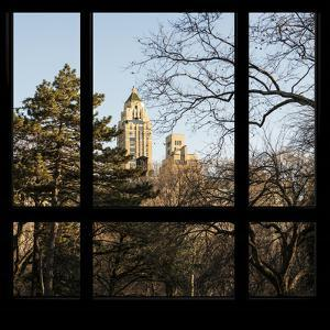 View from the Window - Central Park in Autumn by Philippe Hugonnard