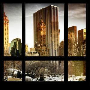 View from the Window - Central Park in Winter by Philippe Hugonnard