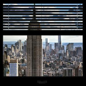 View from the Window - Empire State Building and One World Trade Center by Philippe Hugonnard