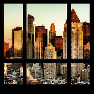 View from the Window - Hell's Kitchen at Sunset - Manhattan by Philippe Hugonnard