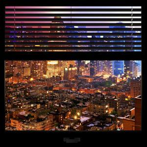 View from the Window - Hell's Kitchen Night - Manhattan by Philippe Hugonnard