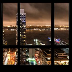 View from the Window - Hudson River New York by Philippe Hugonnard