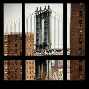 View from the Window - Manhattan Bridge by Philippe Hugonnard