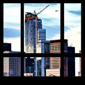 View from the Window - Manhattan Skyscrapers by Philippe Hugonnard