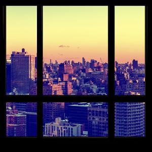View from the Window - Manhattan Sunset by Philippe Hugonnard