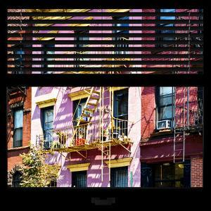 View from the Window - New York Facade Colors by Philippe Hugonnard