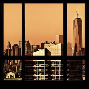 View from the Window - New York Orange by Philippe Hugonnard