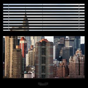 View from the Window - New York Skyline by Philippe Hugonnard