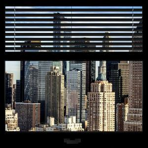 View from the Window - NYC Skyscrapers by Philippe Hugonnard