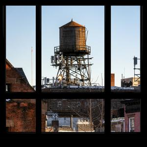 View from the Window - NYC Water Tank by Philippe Hugonnard