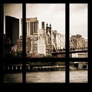 View from the Window - Queensboro Bridge by Philippe Hugonnard