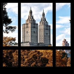 View from the Window - San Remo Building in Autumn - Central Park by Philippe Hugonnard