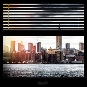 View from the Window - Skyline - Manhattan by Philippe Hugonnard