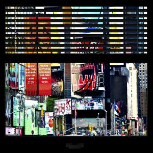 View from the Window - Times Square Buildings by Philippe Hugonnard