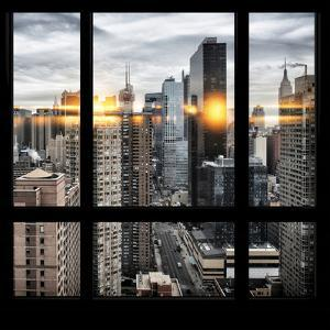 View from the Window - Times Square by Philippe Hugonnard