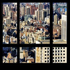 View from the Window - Upper Manhattan Building by Philippe Hugonnard