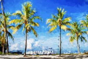View Miami II - In the Style of Oil Painting by Philippe Hugonnard