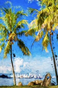 View Miami III - In the Style of Oil Painting by Philippe Hugonnard