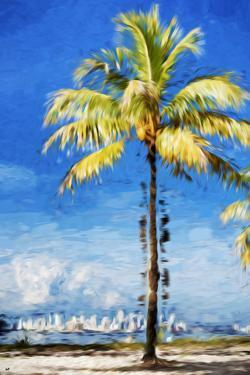 View Miami - In the Style of Oil Painting by Philippe Hugonnard