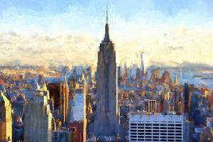 View of Manhattan by Philippe Hugonnard