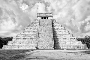 ¡Viva Mexico! B&W Collection - Chichen Itza Pyramid XI by Philippe Hugonnard