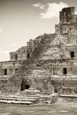 ?Viva Mexico! B&W Collection - Maya Archaeological Site IV - Campeche by Philippe Hugonnard