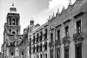 ¡Viva Mexico! B&W Collection - Mexico City Facades II by Philippe Hugonnard