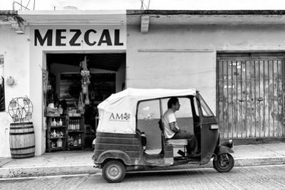 ¡Viva Mexico! B&W Collection - Mezcal Tuk Tuk by Philippe Hugonnard