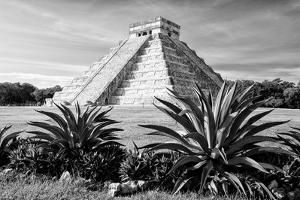 ¡Viva Mexico! B&W Collection - Pyramid of Chichen Itza II by Philippe Hugonnard