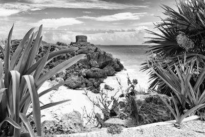 ¡Viva Mexico! B&W Collection - Tulum Riviera Maya IX by Philippe Hugonnard