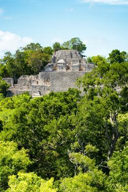 ¡Viva Mexico! Collection - Ancient Maya City within the jungle of Calakmul VI by Philippe Hugonnard
