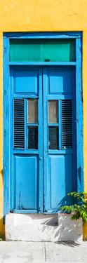 ¡Viva Mexico! Collection - Blue Window and Yellow Wall by Philippe Hugonnard